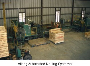 One of our Viking Automated Nailing System machines