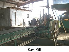 Our on-site saw mill